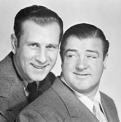 Abbott and Costello television program in the 1950s