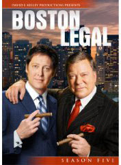 Boston Legal on DVD