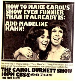 TV Blog - Carol Burnett Show