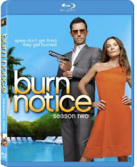 Burn Notice on Blu-Ray