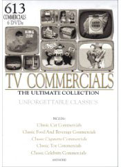 Massive TV Commercials on DVD set