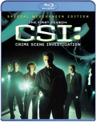 CSI: Crime Scene Investigation on Blu-Ray