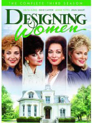 Designing Women: Season Three (1988) on DVD