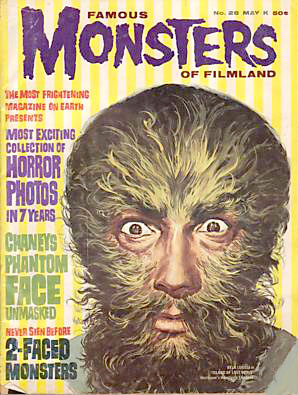 TV Blog - monster magazines - classic TV shows