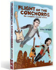 Flight of the Conchords : The Complete Second Season : Born To Folk on dvd