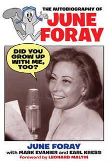 TV Blog - june foray book