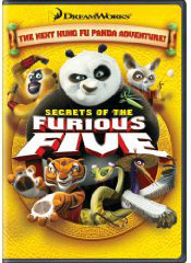 Secrets of the Furious Five on DVD