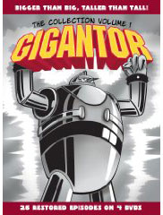 Gigantor on DVD