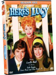 Here's Lucy on DVD ...