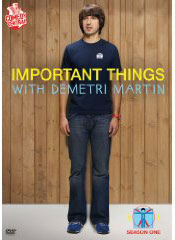 Important Things with Demetri Martin on DVD