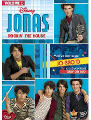 Jonas Brothers: Rockin the House on DVD