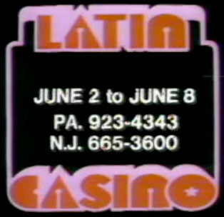 TV Blog / Latin Casino nightclub / Cherry Hill New Jersey