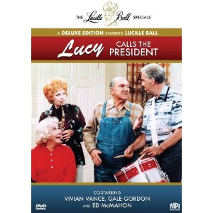 Lucy Calls the President on DVD
