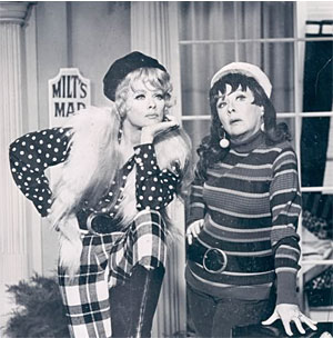 TV Blog / Lucy and Vivian Vance 1966