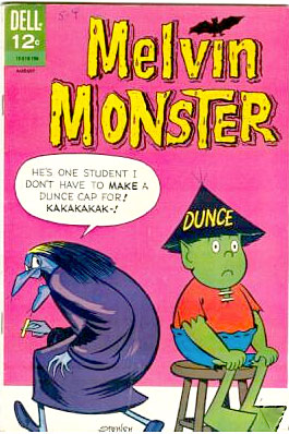 Melvin Monster comics #9 1967 Dell Comics