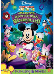 Mickey's Adventures in Wonderland  on dvd