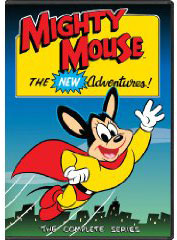 The New Adventures of Mighty Mouse on DVD