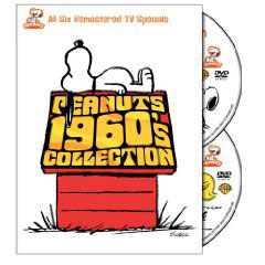 Peanuts 1960s specials on DVD