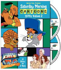 Saturday Morning Cartoons 1970s V1 on DVD