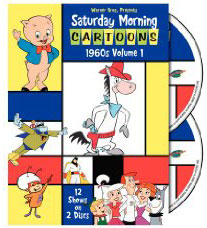 Saturday Morning Cartoons 1960s V1 on DVD