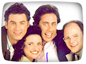Seinfeld cast - classic TV shows of the 1980s