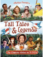 Shelley Duvall's Tall Tales & Legends on DVD