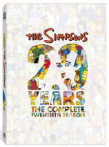 The Simpsons season 20 on DVD