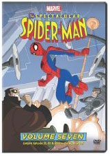 The Spectacular Spider-Man on DVD