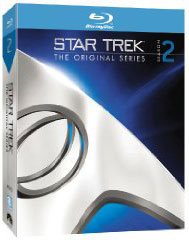 Star Trek: The Original Series S2 on blu-ray on DVD