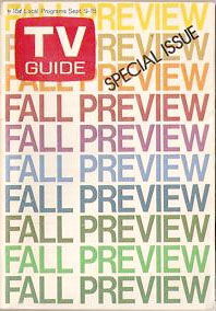 TV blog - 1971 TV Guide Fall Preview issue
