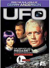 UFO TV SERIES on DVD