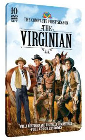 The Virginian on DVD