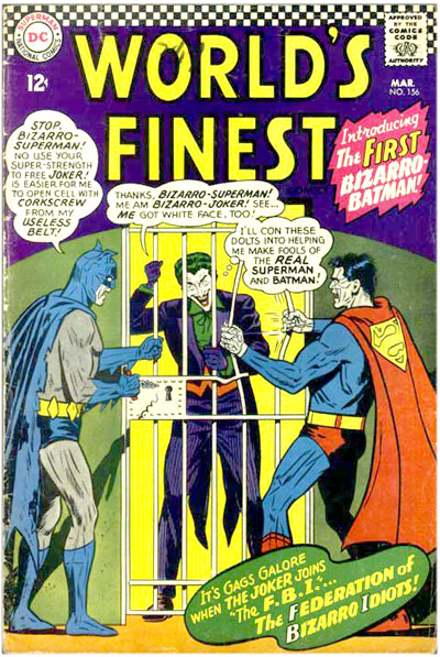 World's Finest # 156 /classic comic books - DC comics cover