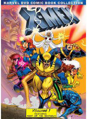 X-Men Animated on DVD