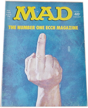 TV Blog / Mad Magazine cover