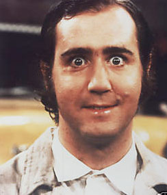 TV Blog / classic TV star Andy Kaufman