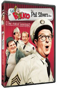 Phil Silvers Bilko show on DVD