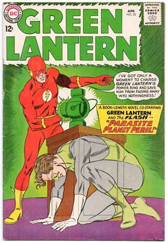 TV Blog / Green Lantern Comics #20 / Classic DC comics 1960s