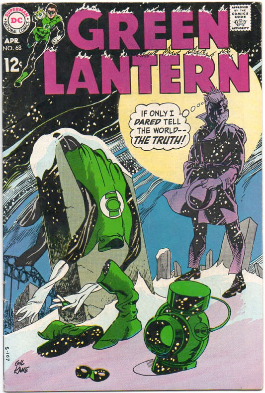 Green Lantern Comics of the 1960s