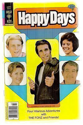 Happy Days comic book