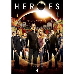 Heroes - Season 4 on DVD
