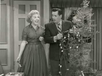 Christmas TV Shows with Vivian Vance & Desi Arnaz in I Love Lucy