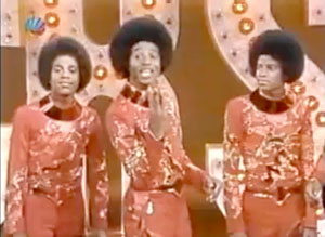 Michael Jackson onThe Jacksons TV show on CBS in 1976