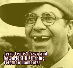 Jerry Lewis Telethon outtakes / classic moments from the Labor Day telethon