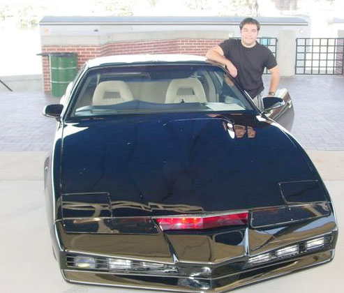 TV Blog / Knight Rider TV Show car replica