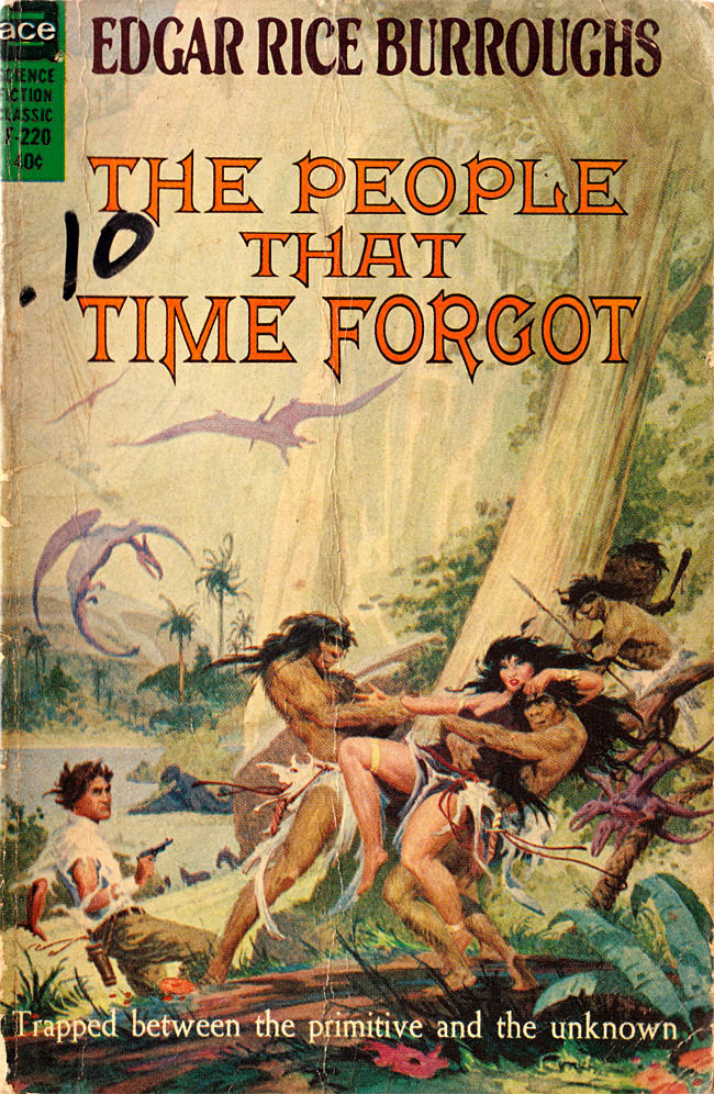 Edgar rice burroughs illustrator Roy Krenkel