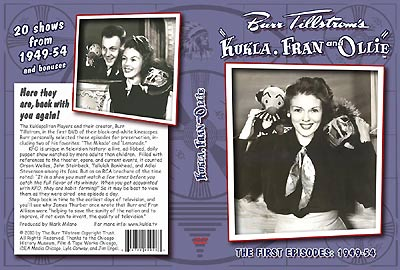 Kukla Fran & Ollie on DVD