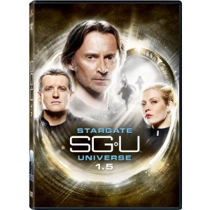 Stargate: SGU Season 1.5g  on DVD