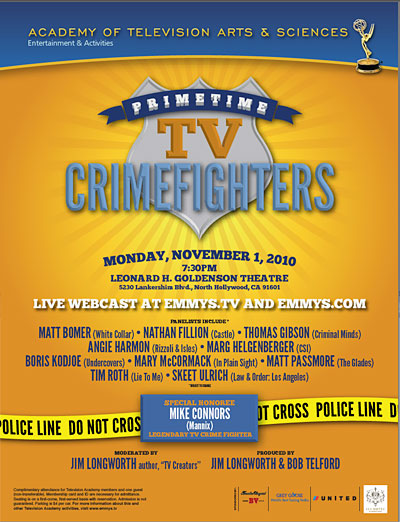TV Blog / Television Crime Fighters