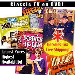 TV Classics / Classic TV Shows on DVD